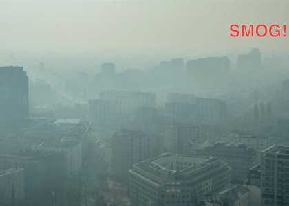 Smog nad Warszawa (source: https://www.flickr.com/photos/radekkolakowski/22798350941/)