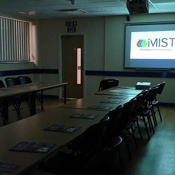 iMist Fire Suppression Water Mist CPD