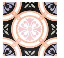 carrelage imitation ciment rose poudre