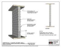 02.020.0201: Vertical Cantilever Wall | International ...