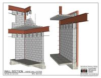 02.120.0101: Wall Section - Hybrid Wall System ...