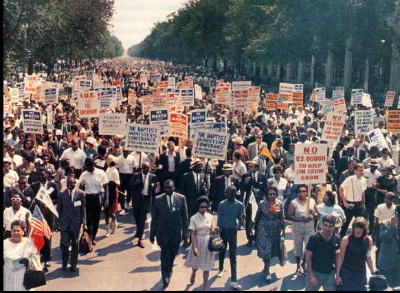 The 50th Anniversary of the March/Farce on Washington w Ajamu Baraka