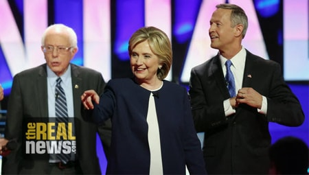 At Democratic Debate, Candidates Embrace Military Solutions in Foreign Policy