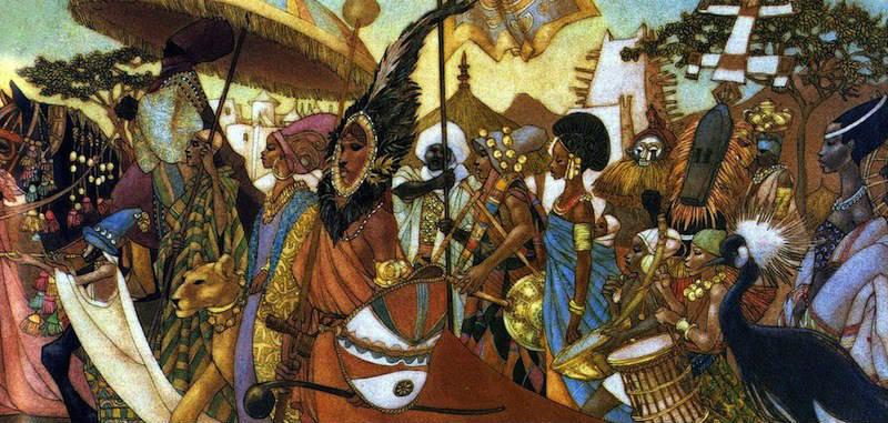 Real African Black Panther Fighting Societies with Ahati Kilindi Iyi