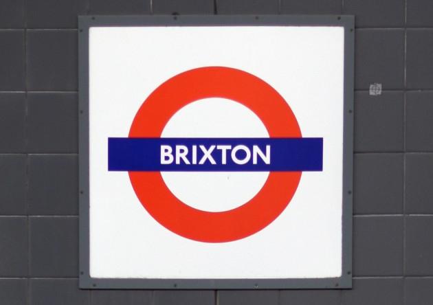 brixton underground sign