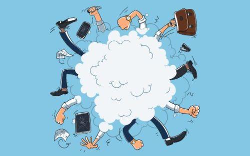fists flying in a cloud - Modern Manners14   www.imjussayin.com