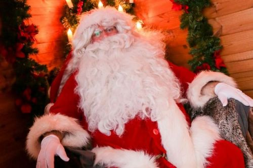 father christmas with his big white beard   Ban The Burka and The Beard -  www.imjussayin.com