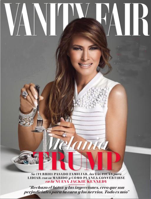 Melania Trump on Vanity Fair | www.imjussayin.com