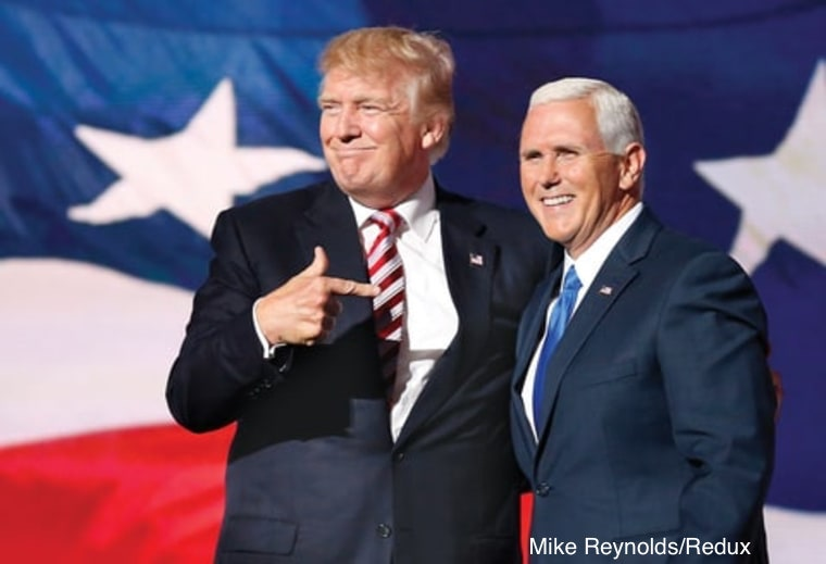 President Trump and Mike Pence | www.imjussayin.com