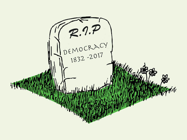 landslide victory could be death of democracy | www.imjussayin.com