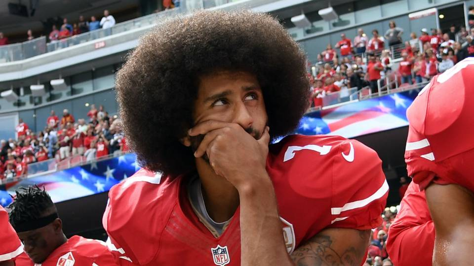 Kaepernick with an afro looking fine | www.imjusayin.com