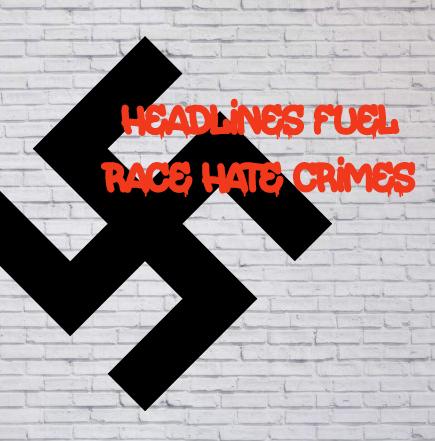 Race headlines fuel race hate   www.imjussayin.com
