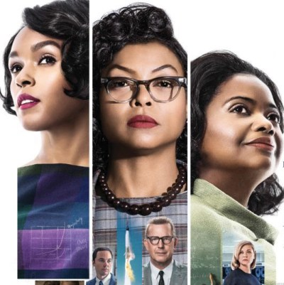 what's on Hidden Figures poster | www.imjussayin.com