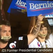 Bernie Sanders Supporters at the DNC 2016