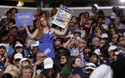 Bernie Sanders Supporter Protester DNC 2016