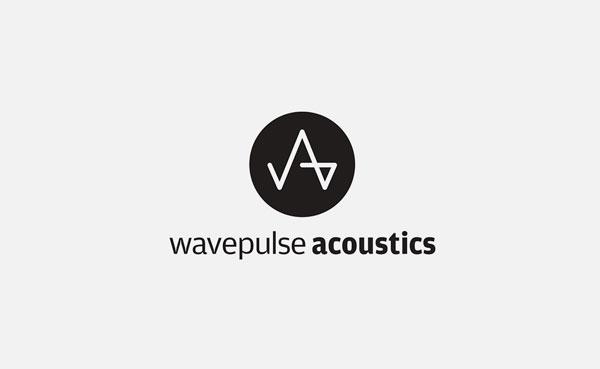 Wavepulse Acoustics Logo Designed by The Logo Smith