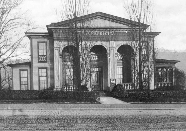 """James W. Patton's home """"Henrietta"""