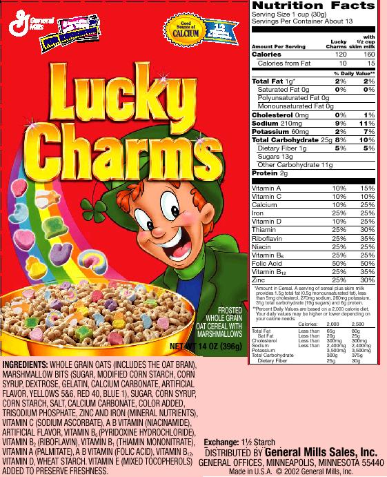 Fact: General Mills Cereal Contains Poisonous Ingredient