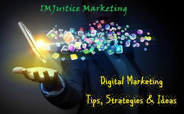IMJustice Marketing tips, strategies and ideas