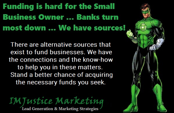 Business Funding sources for small business