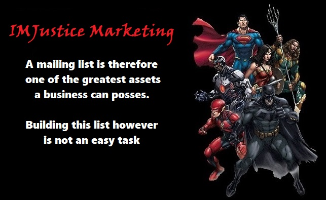 growing your list is a great way to build your business