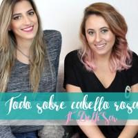 Todo sobre cabello rosa: cómo teñirlo y cuidarlo ft. DelfiSav - I'm Karenina TV