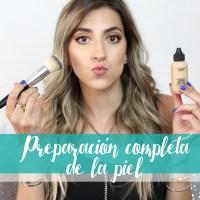 Preparación de piel completa para maquillaje de noche - I'm Karenina TV