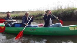 Als Team sitzt man immer in einem Boot. Es geht nur voran, wenn alle paddeln
