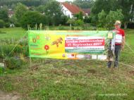 Werbebanner in Westernhausen