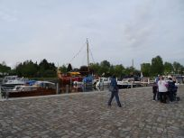 Harbour festival in Oranienburg - unfortunately they were already packing up when we came.