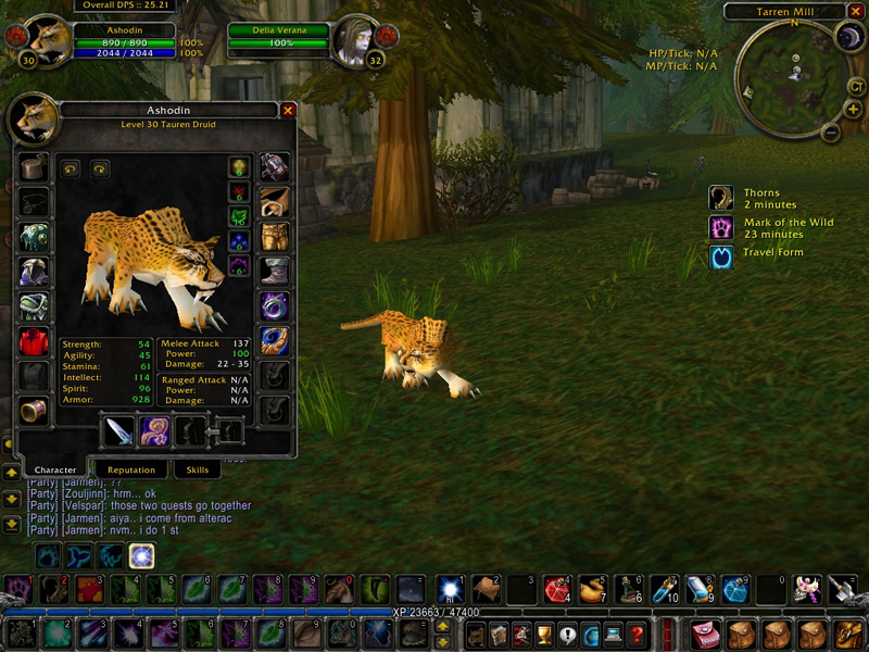 Leopard In WOW