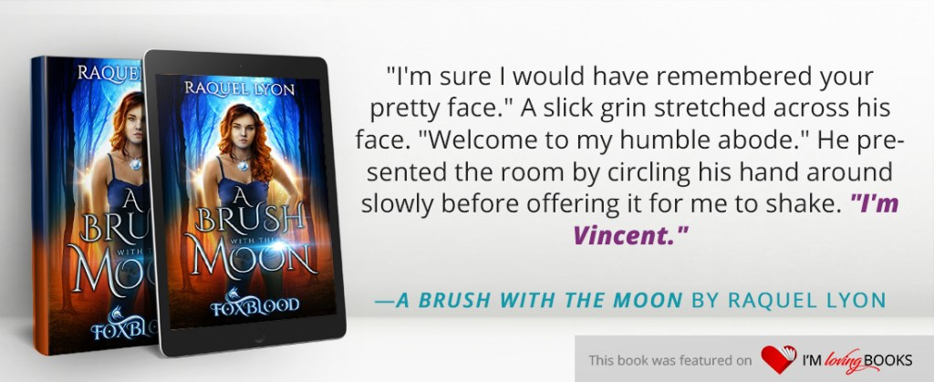 A Brush With the Moon - YA Paranormal Adventure Fantasy with