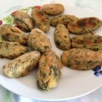 Crocchette di patate e spinaci senza uova