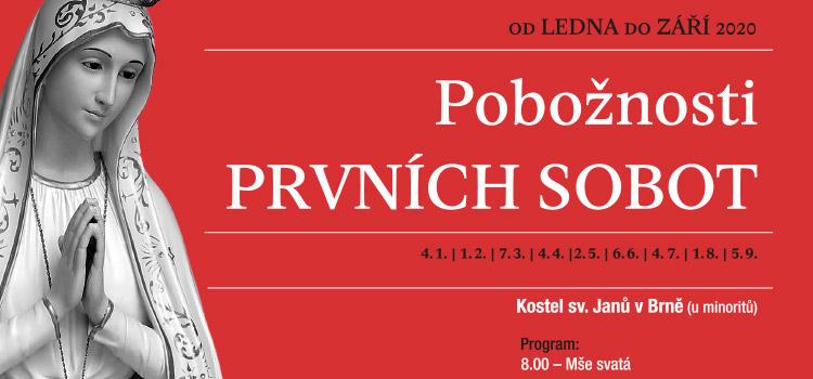 První soboty v roce 2020 v Brně u minoritů