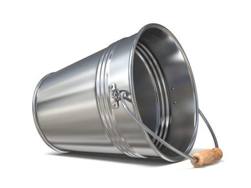Empty bucket image.