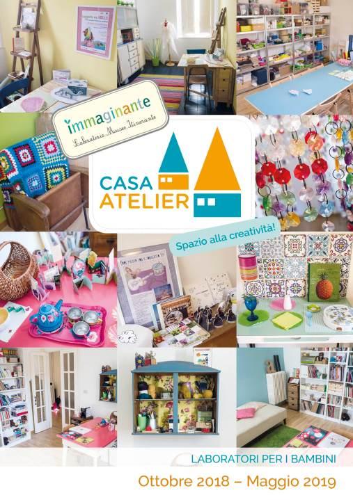 Programma completo dei laboratori per bambini presso la nostra Casa Atelier