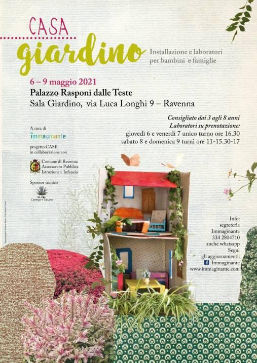 Casa giardino – Mostra a Palazzo Rasponi