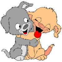 Disegno di Teneri Cuccioli a colori per bambini