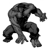 Disegno di Incredibile Hulk a colori per bambini ...