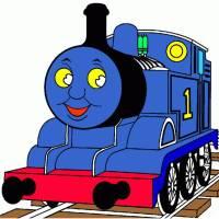 Disegno di Trenino Thomas a colori per bambini ...