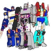 Disegno di Transformers a colori per bambini