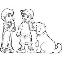 Disegni Cani Per Bambini. Cheap Disegni Animali Da With