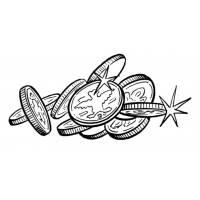 Disegni con soldi per bambini - disegnidacolorareonline.com