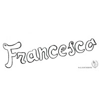 Disegno di Francesco da colorare per bambini ...