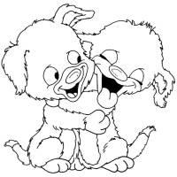 Disegno di Teneri Cuccioli da colorare per bambini ...
