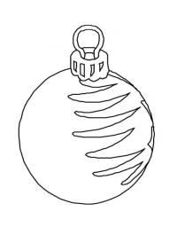 Disegni Di Palline Di Natale Da Colorare.Palla Di Natale Da Stampare E Colorare Palline Con Babbo Natale