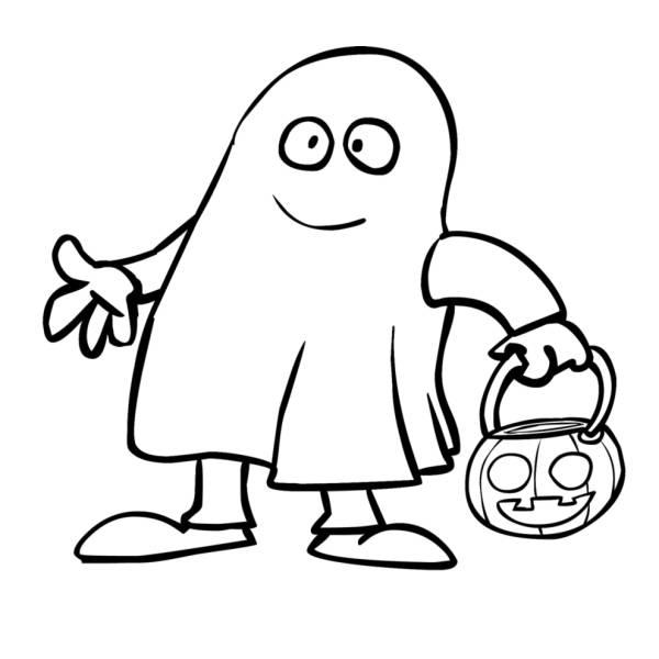 Disegni Da Colorare Zucca Halloween Per Bambini