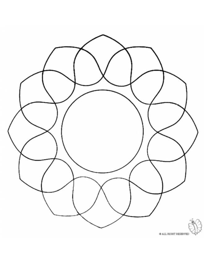 Disegni Da Colorare Mandala Animali
