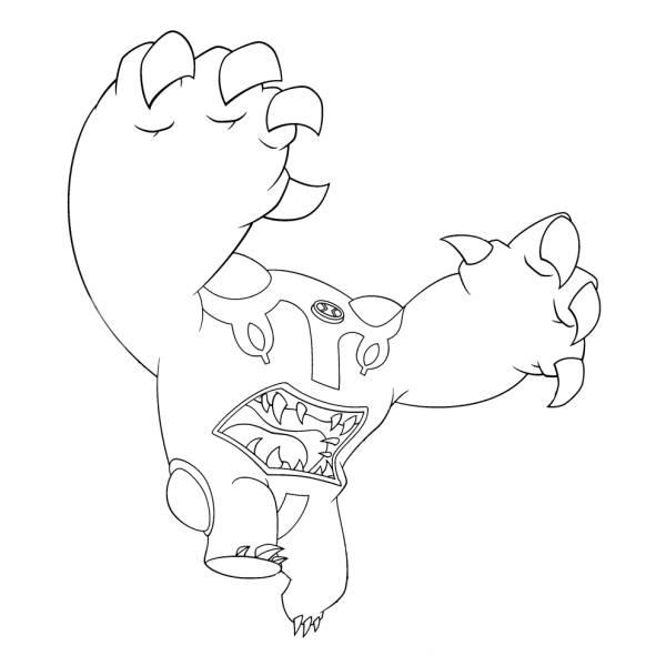 Disegno di Rotolone Ben Ten da colorare per bambini