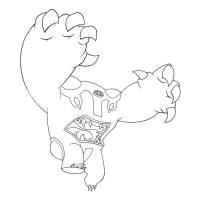 Disegno di Rotolone Ben Ten da colorare per bambini ...